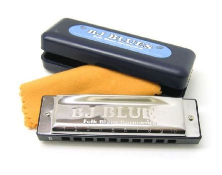 BJ Blues Harmonica - Key of A